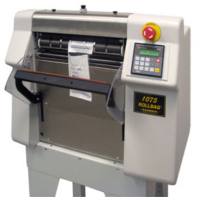 Titan 1075 Rollbag Automatic Packager.